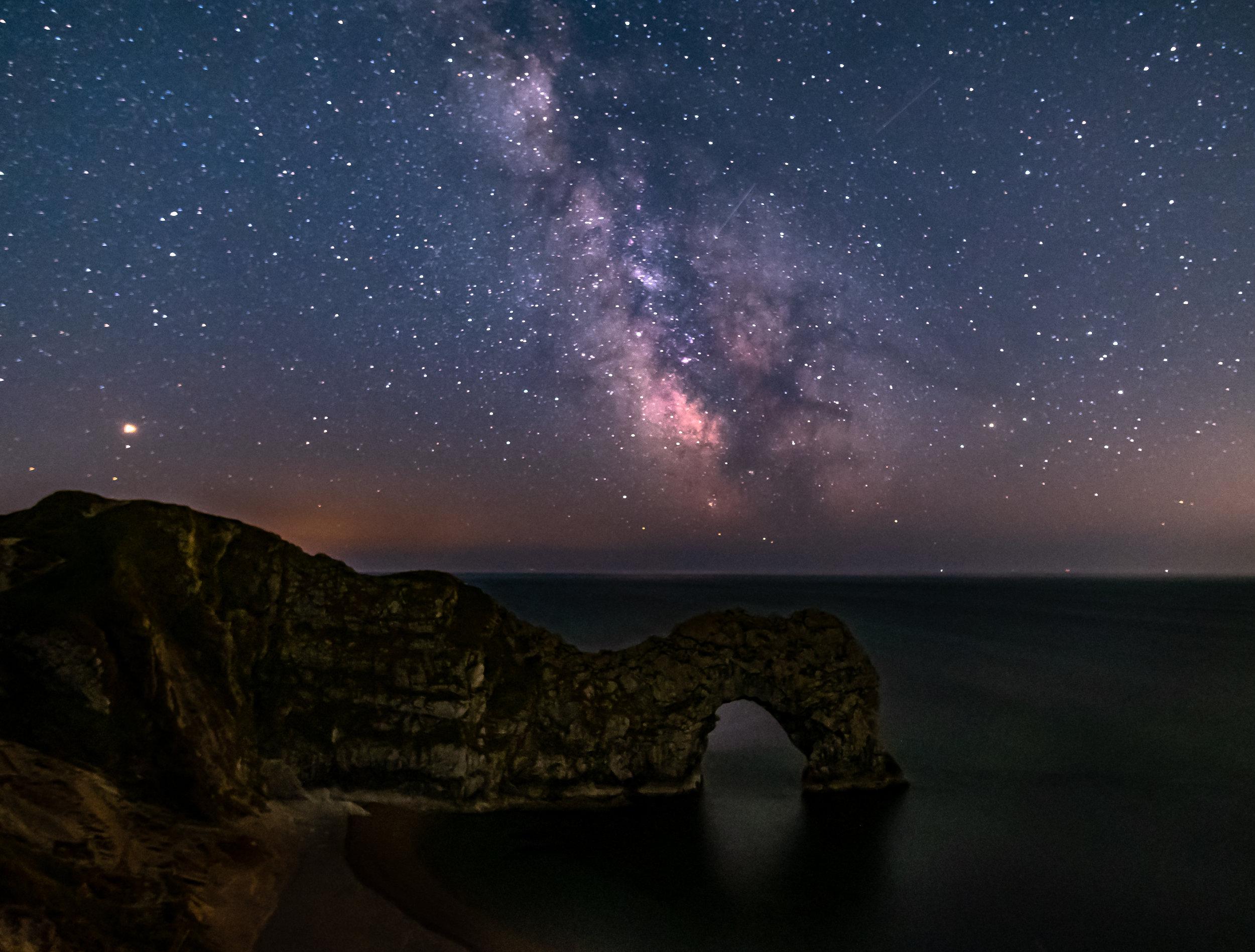Durdle Door Under the Milky Way - Dorset