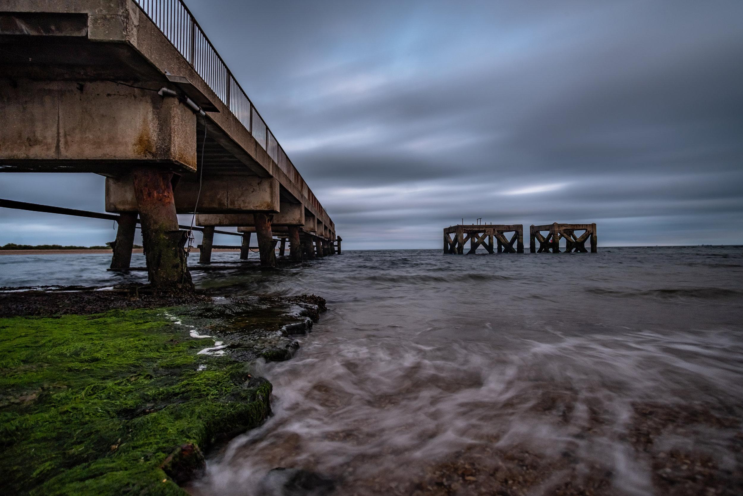A Long Exposure of Eastney Fishing Pier - Eastney, UK