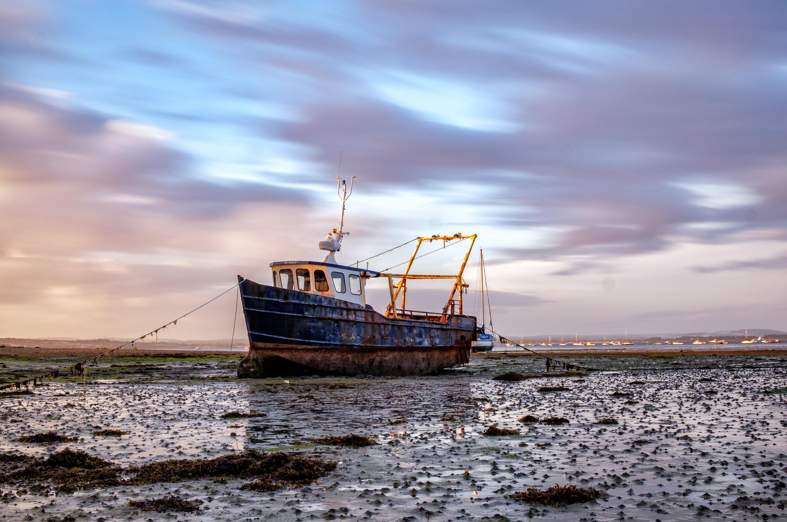 Ship Wreck on Milton Common - Portsmouth, UK