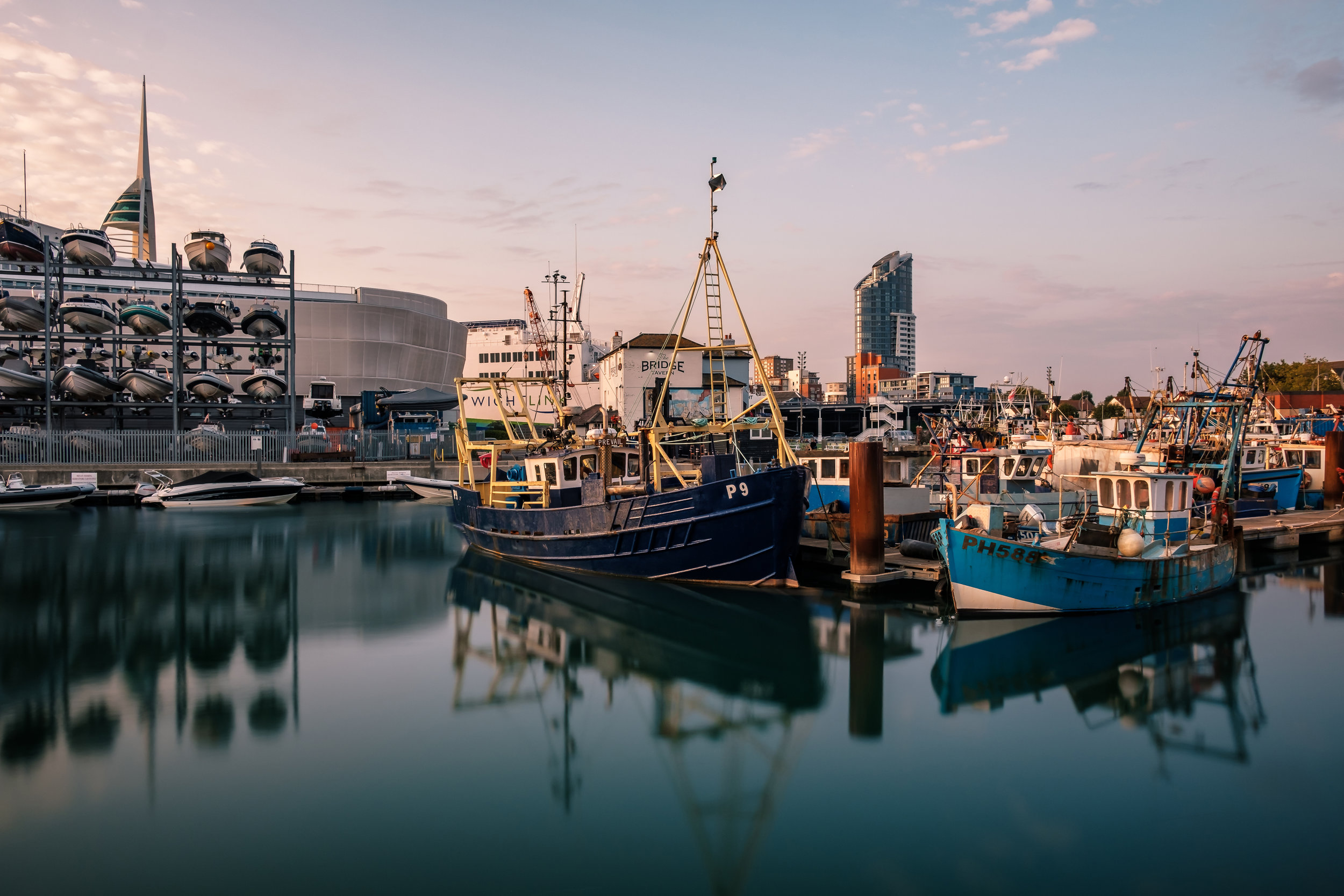 The Camber, Old Portsmouth UK