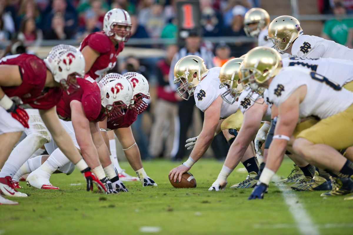 Field Passes for Notre Dame vs. Stanford