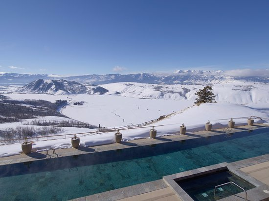 Stay at Amangani in Jackson Hole, WY