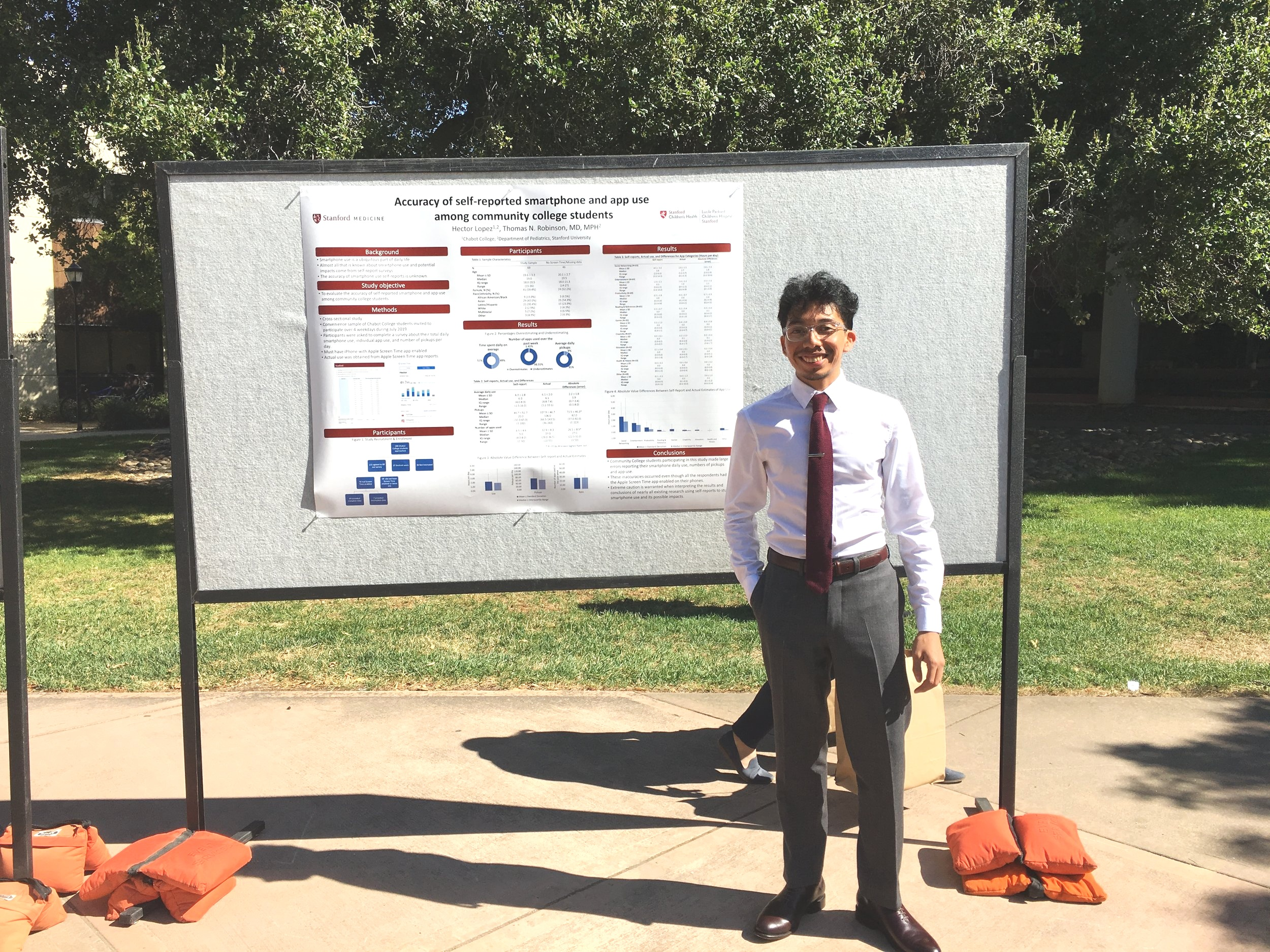 Hector L. - Congratulations to one of our YES youth, Hector Lopez! He graduated from the Stanford University 2019 Summer Research Experience for Community College Students program this summer. We are extremely proud of you Hector! Keep working hard, keep persevering, and continue to follow your dreams!