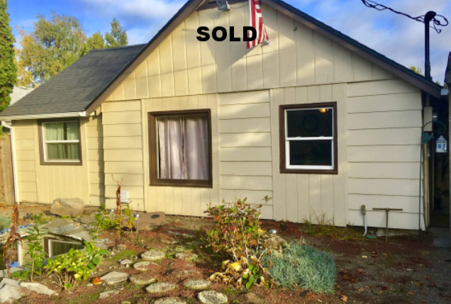 New roof! Home sold As-Is. Fix up existing home or build new dream home!