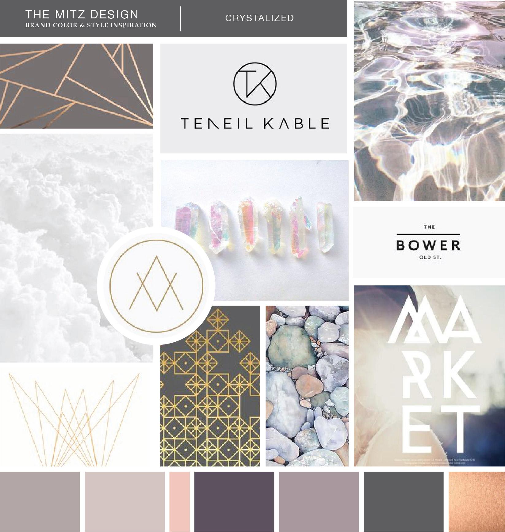Brand Design Moodboard | Sarah Ehlinger | Brand Spanking You