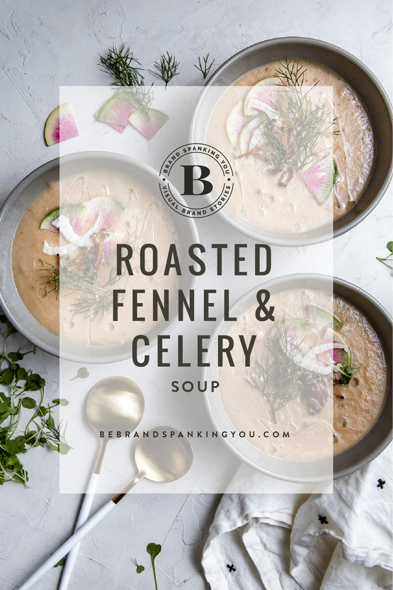 recipe for roasted fennel and celery soup