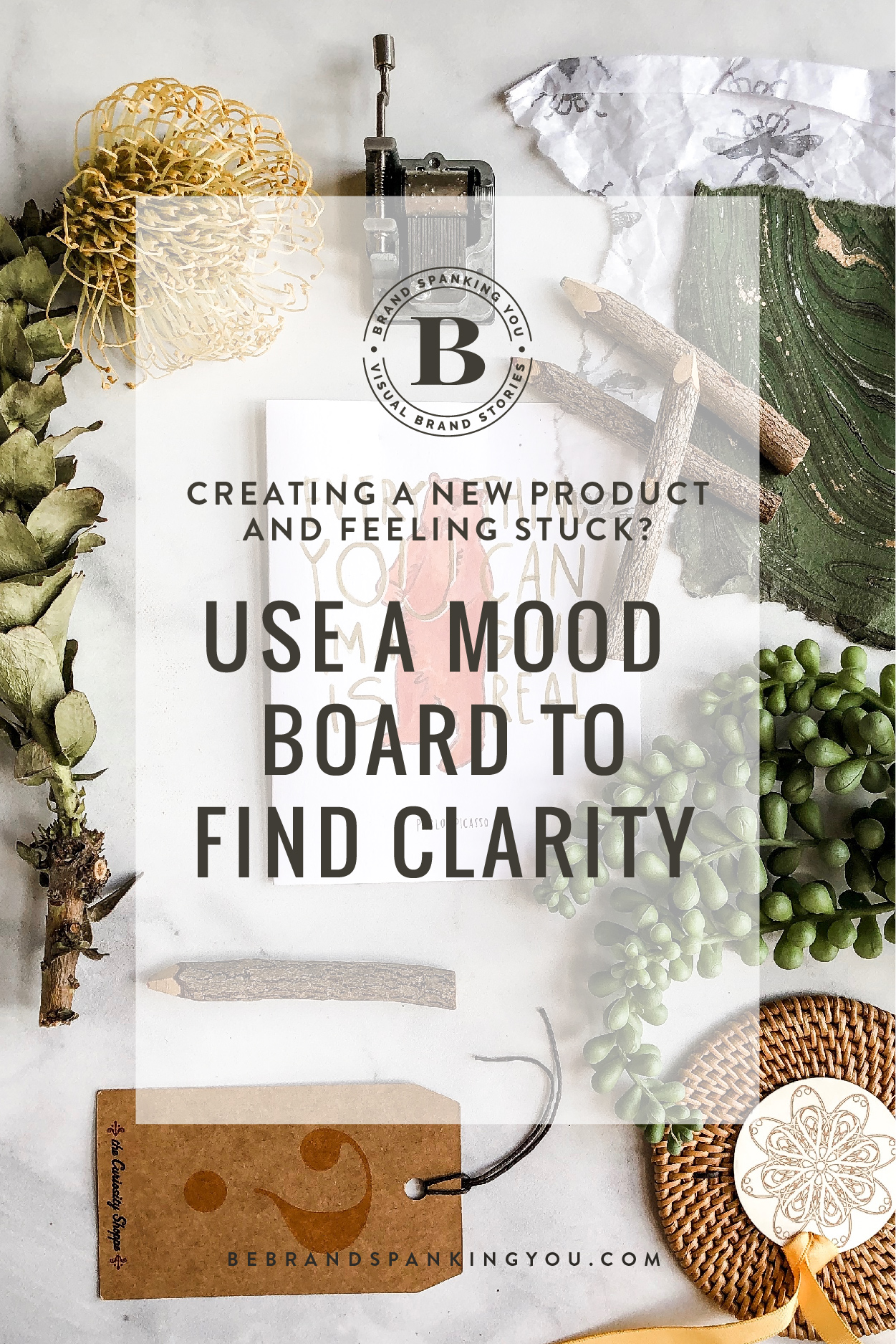 If you find yourself feeling stuck while creating a new product, service or offering, a mood board might help you find some clarity.