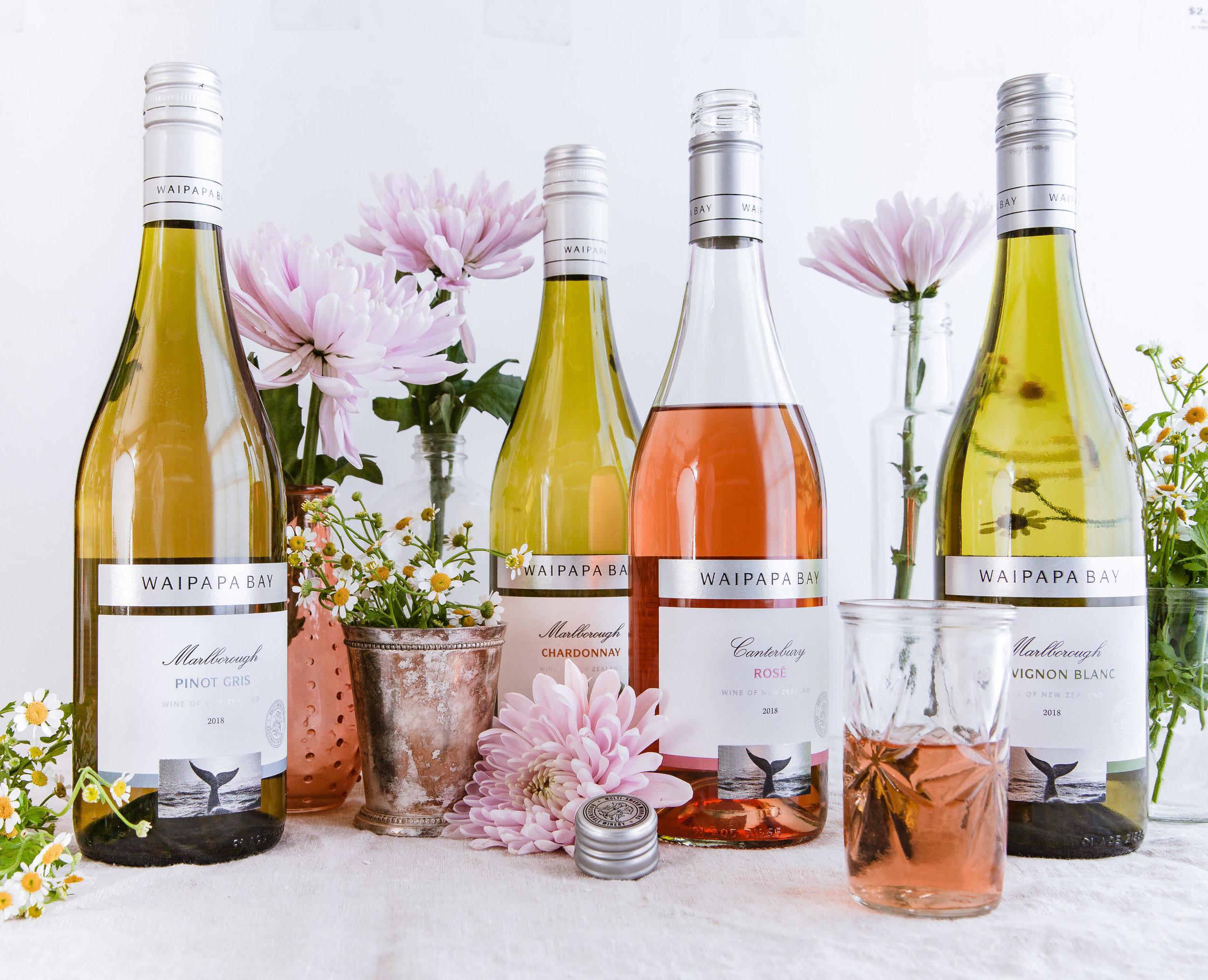 Waipapa wines Social Media images by los angeles food photographer Sarah Ehlinger