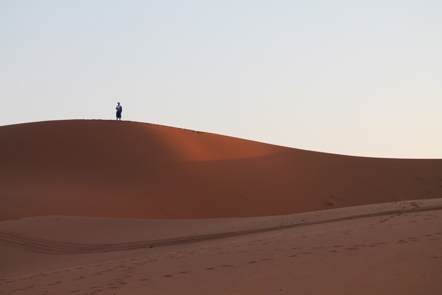 Somewhere in the Sahara