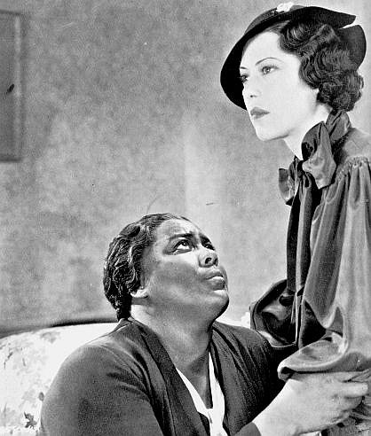 Louise Beavers and Fredi Washington in Imitation of Life (1934)