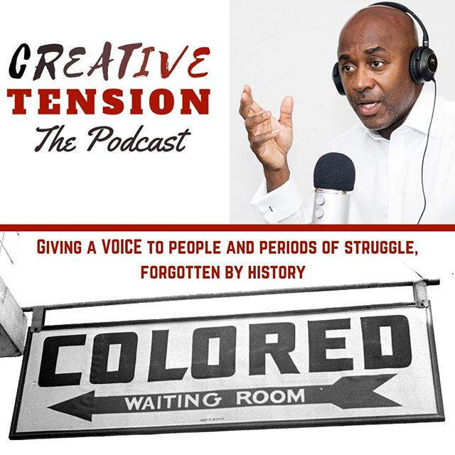 Listen to Creative Tension where ever u find your favorite podcast. #createtension #podsincolor #podcastsincolor #dopeblackpods #podcasts4theculture #podcasts #blackpodcast #podcastculture #podcastersofinstagram #applepodcasts #podcastlife #podcasthost #podcaster #podcastlove