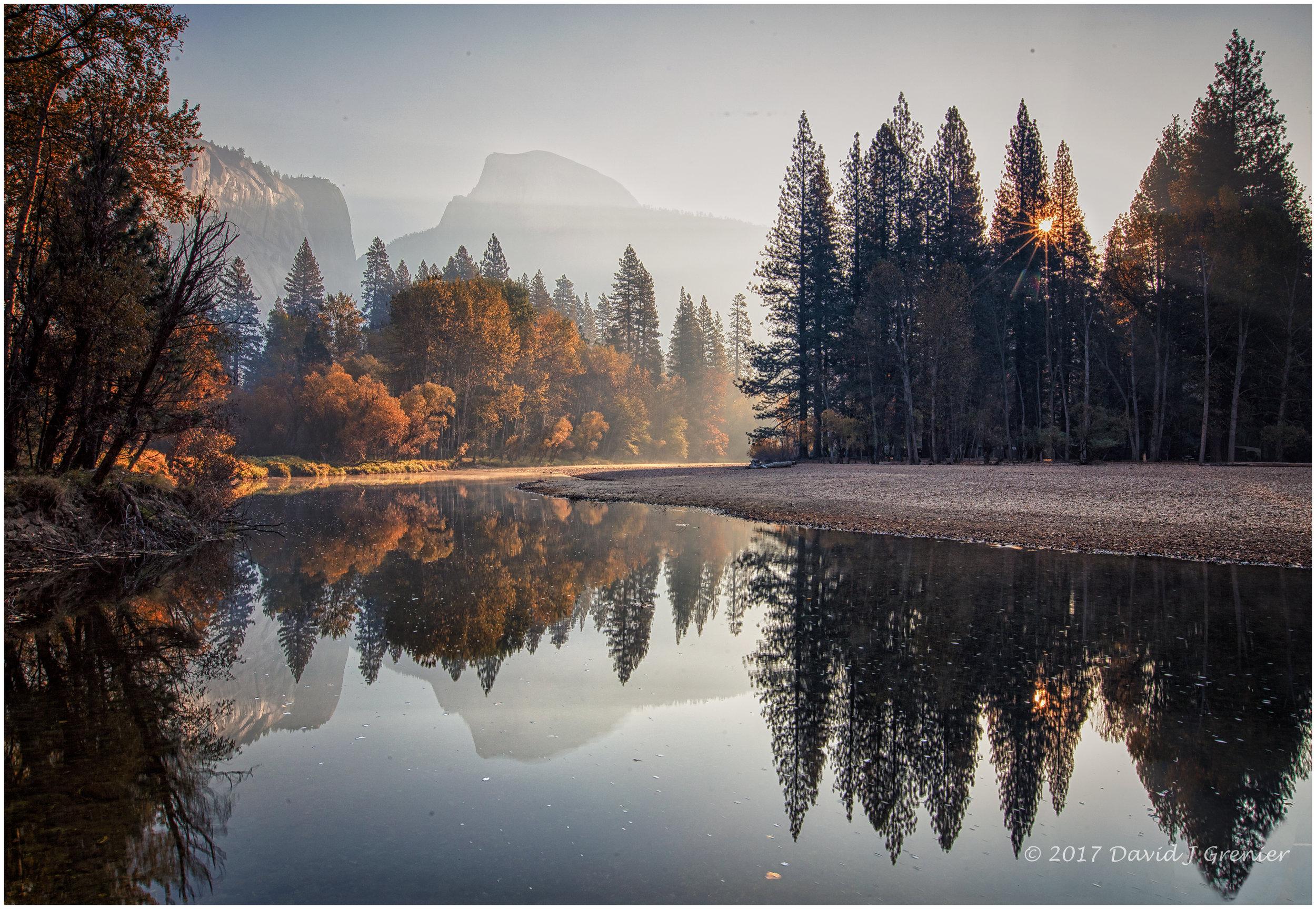 November 2, 2017, Yosemite National Park, CA; exp. 1/10 sec @ f/22; 16-35mm lens @ 16mm; ISO 100