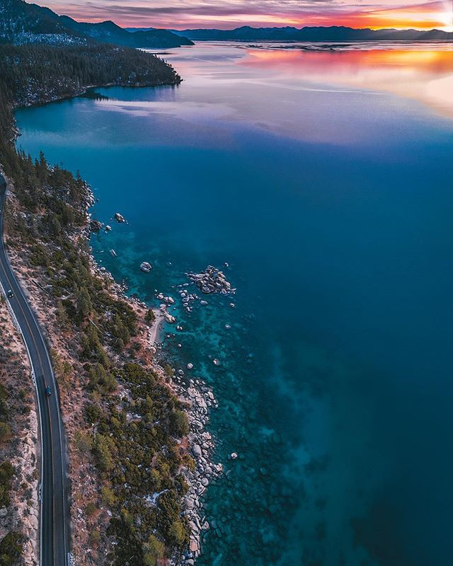 •Missing the non smokey skies• - -DJI phantom 4 pro  #escape #liveauthentic  #stayandwander #tahoesnaps #welivetoexplore #thatpnwlife #liveoutdoors #laketahoe  #wondermore #awakethesoul  #igshotz #moodygrams #all2epic #theoutbound #livefolk #djiglobal #keepitwild #illest_shots #wanderlust #VisualsCollective #welivetoexplore #landscape_lovers #ignorcal  #WestCoast_Exposures #creativeshots #beautifuldestinations #neverstopexploring #northlaketahoe #sunset_madness