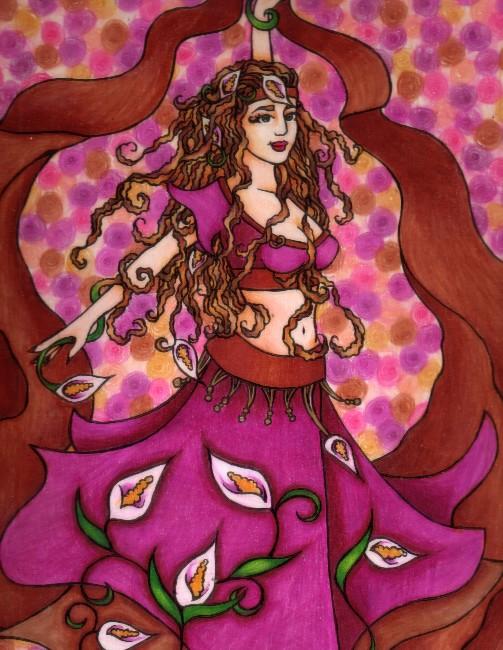 Ruby Belly Dancer