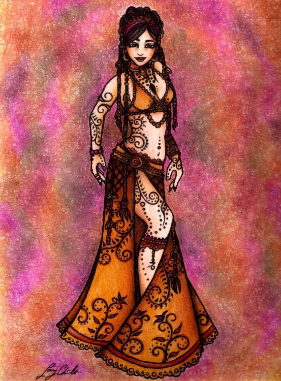 Capricorn Belly Dancer