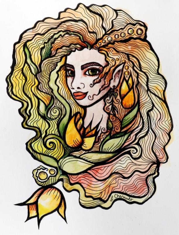 Spring Elf Goddess