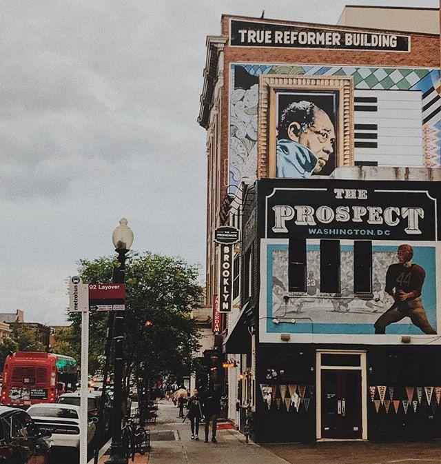 new Duke Ellington mural on Black Broadway 🎹✨