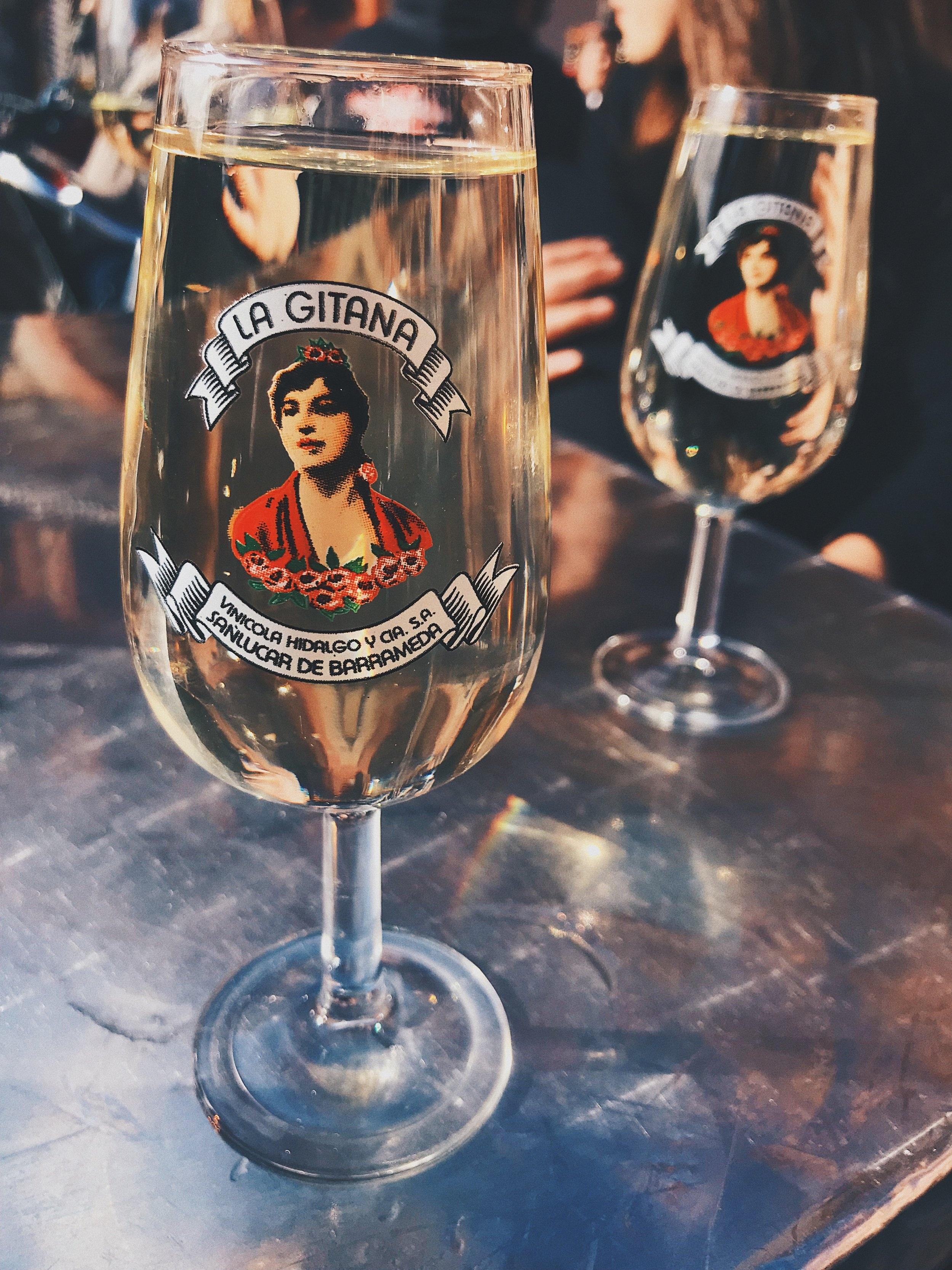 Vino fino , the region's specialty.