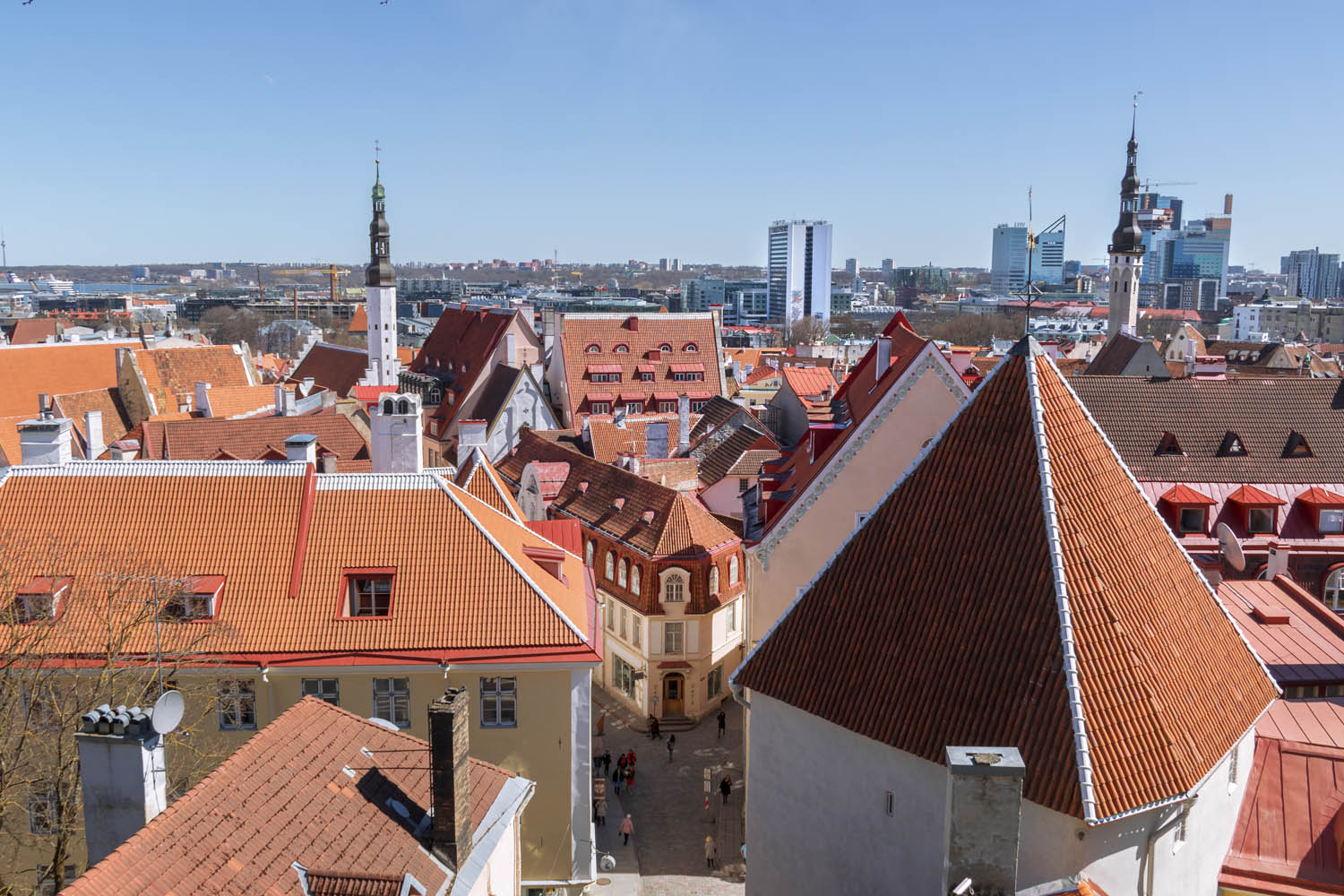 The Old Town of Tallinn, always so charming!