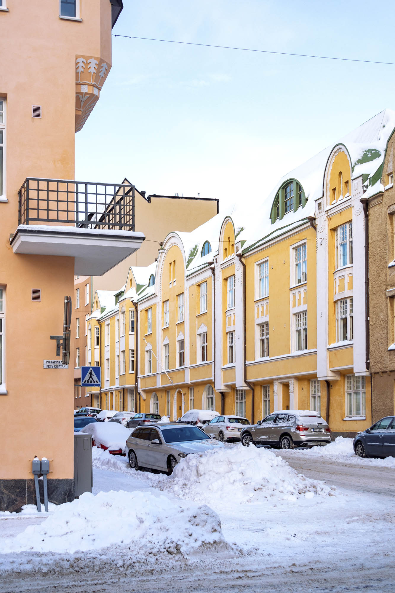 Huvilakatu Street / Ullanlinna District