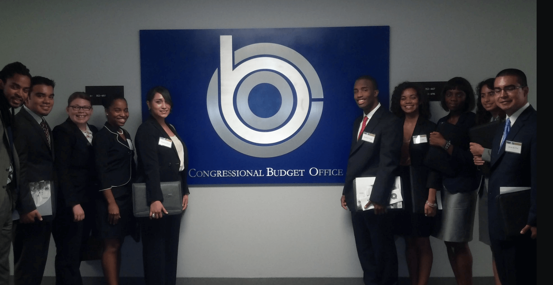 Class of 2009 after Congressional Budget Office visit