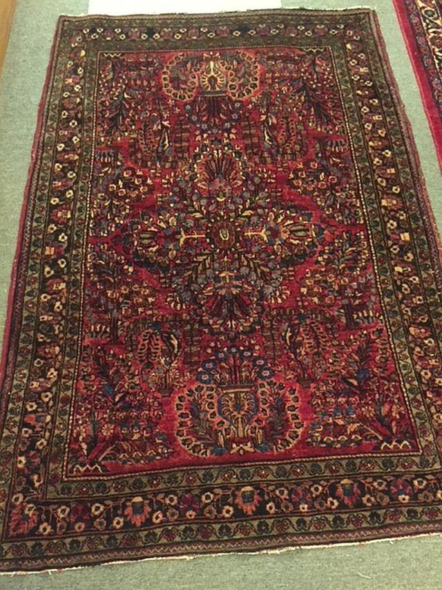 Persian Sarouk, 42 x 59, $410