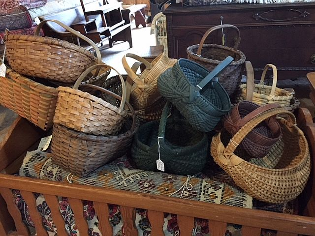 Large variety of baskets