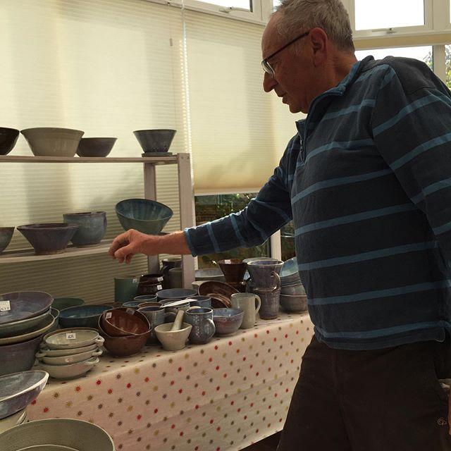 Shefton's pottery #ilanarichardson #westhoveartstrail #aoh2019