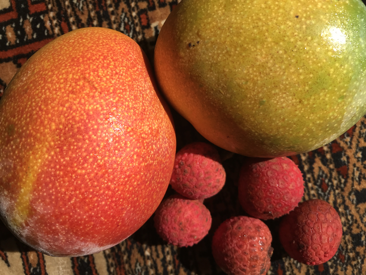 Fresh Fruits Mangos Lychee.jpg