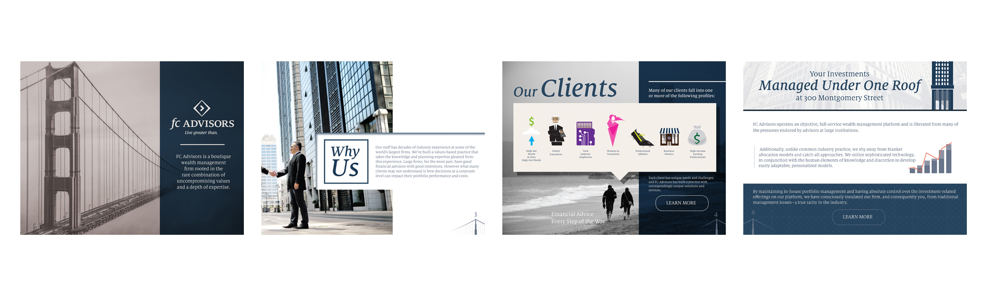 FC Advisors, San Francisco  Selected pages from a 10-page e-book