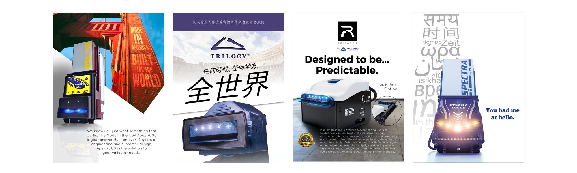 Pyramid Technology, Mesa, AZ  Product line 1-pagers