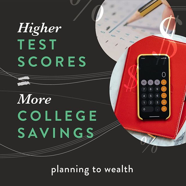 A simple equation. The more review, the bigger the results. So what are your plans this summer? Are you preparing for college? Admissions committees take the highest score into account. Save the most with preparation and packaging. More tips in the link in bio. #collegeprep #highereducation #collegesavings #testscores #planningtowealth