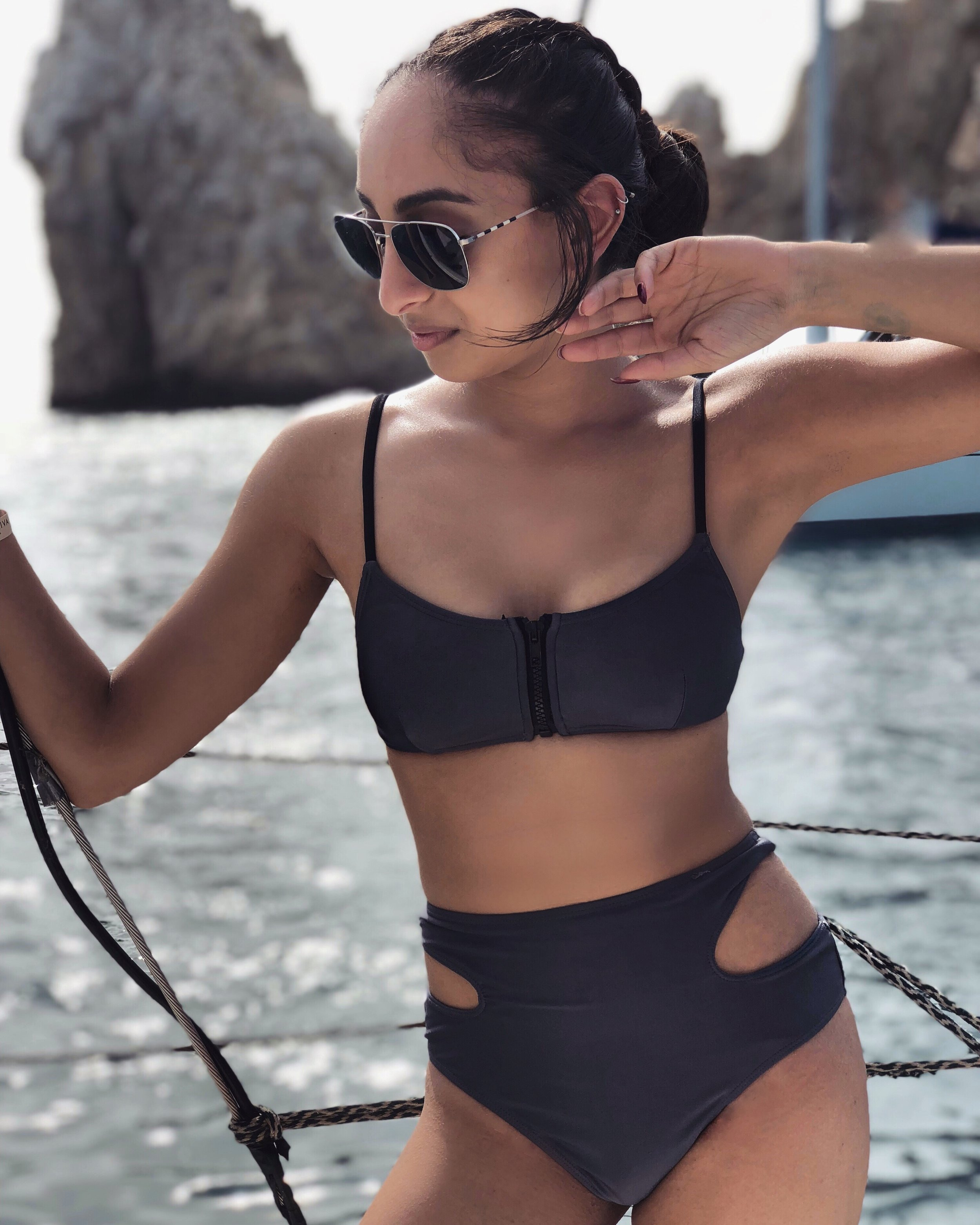 Fashionable and chic high waisted bikini from Forever 21