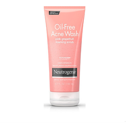 Neutrogena Acne Face Wash $10