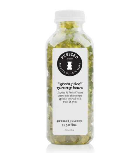 Green Juice Gummy Bears $14
