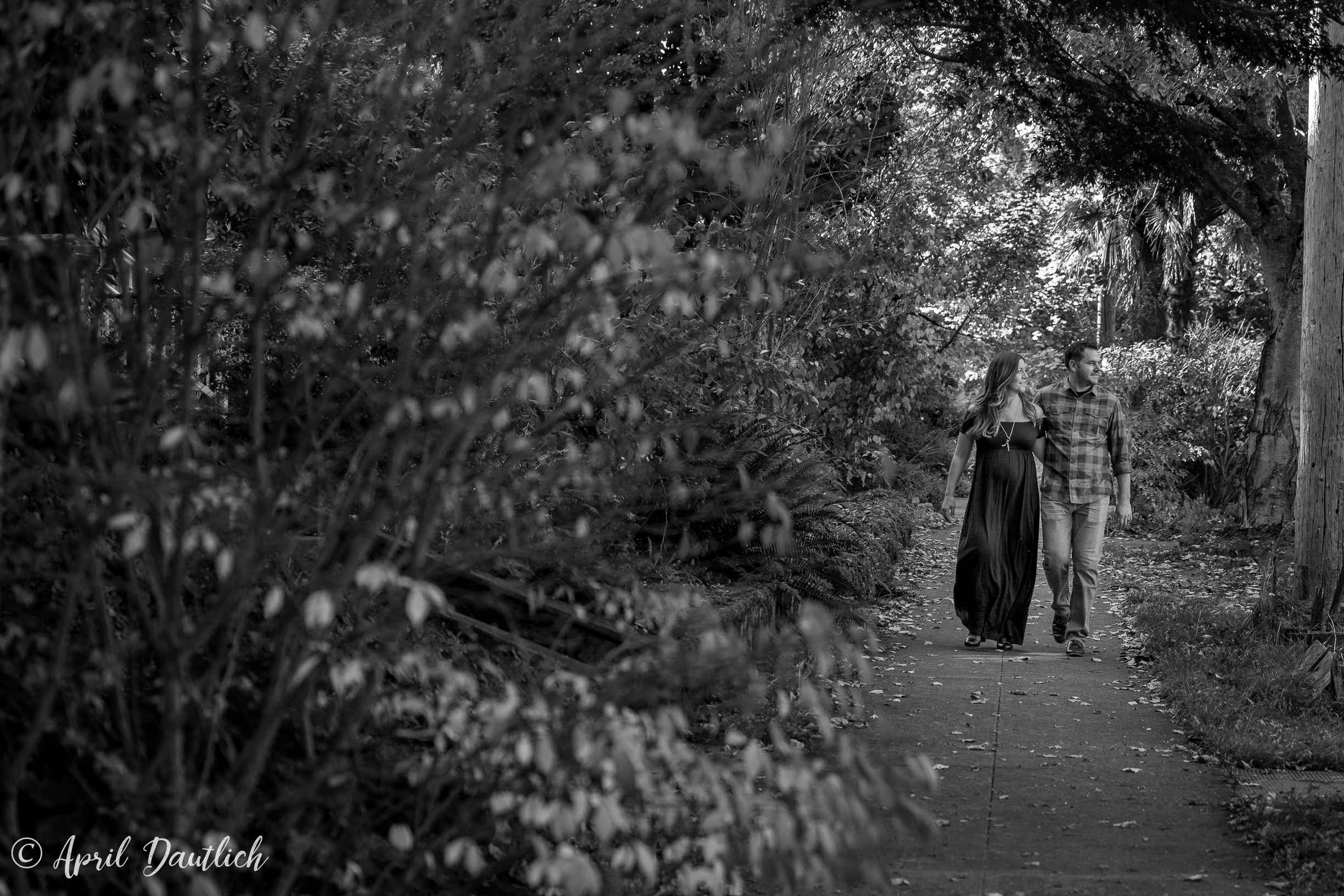 Couple on a walk