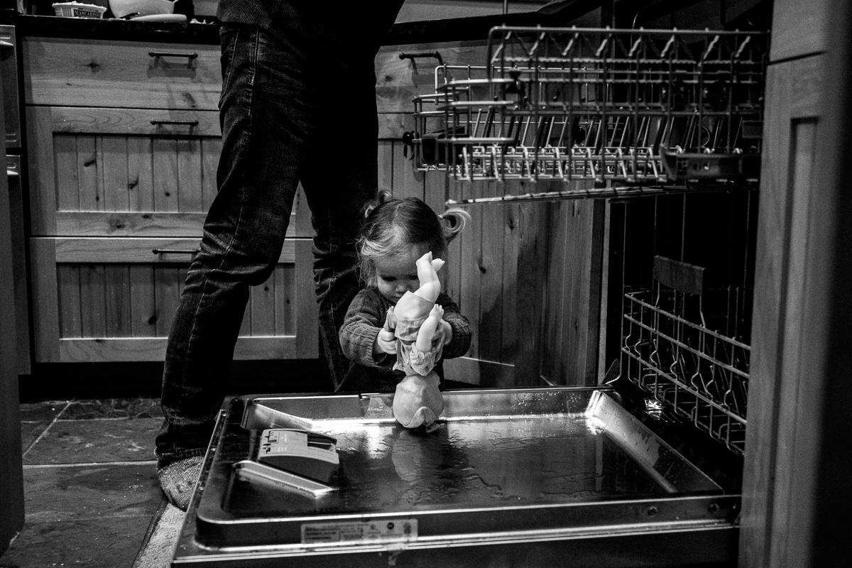 Dishwasher dolly