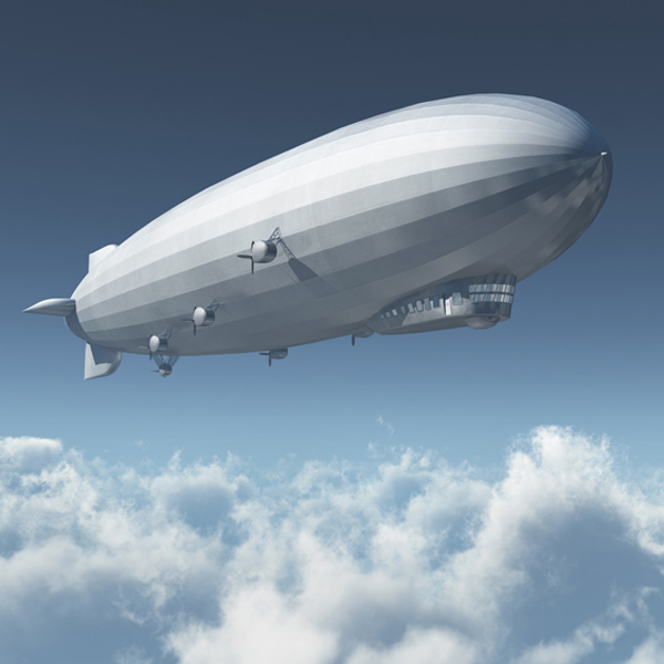 Electric Airship Transportation System -