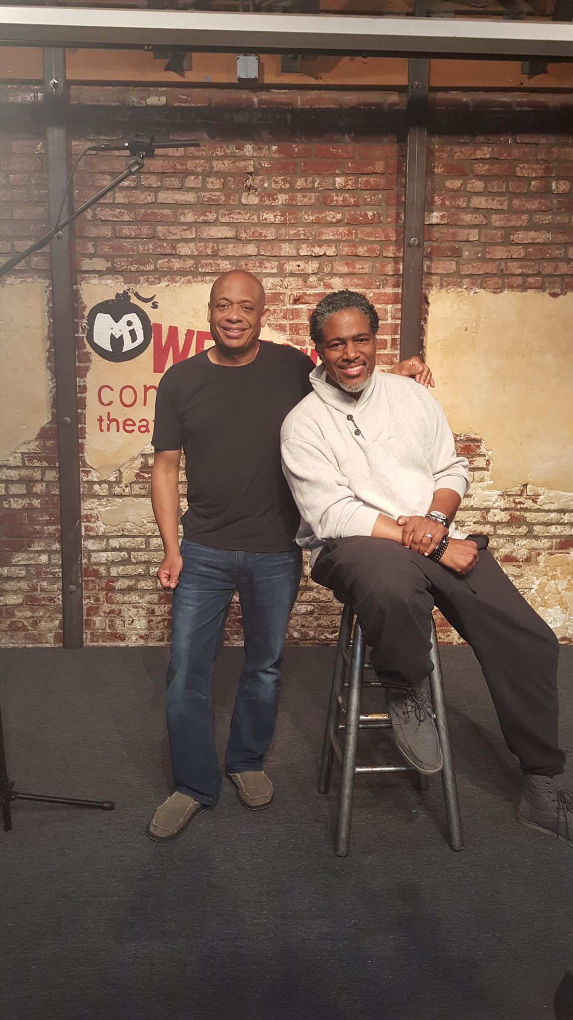 Michael and Ali LeRoi Survivor's Remorse, co creator of Every Body Hates Chris, wiiter for The Chris Rock Show.jpg