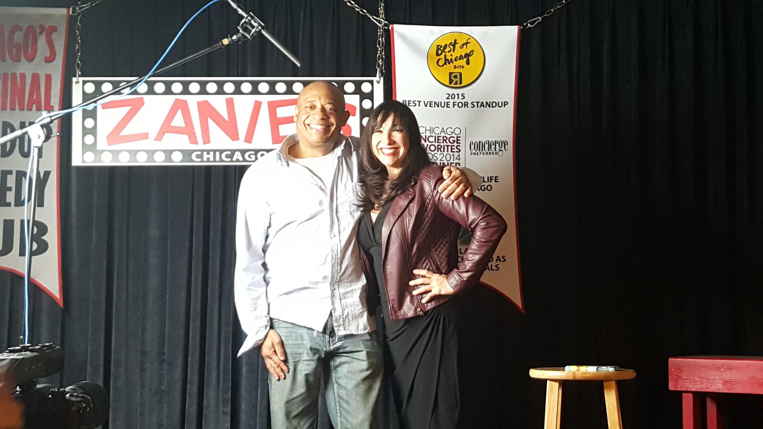 Michael and Patti VasquezWGN Raido.jpg