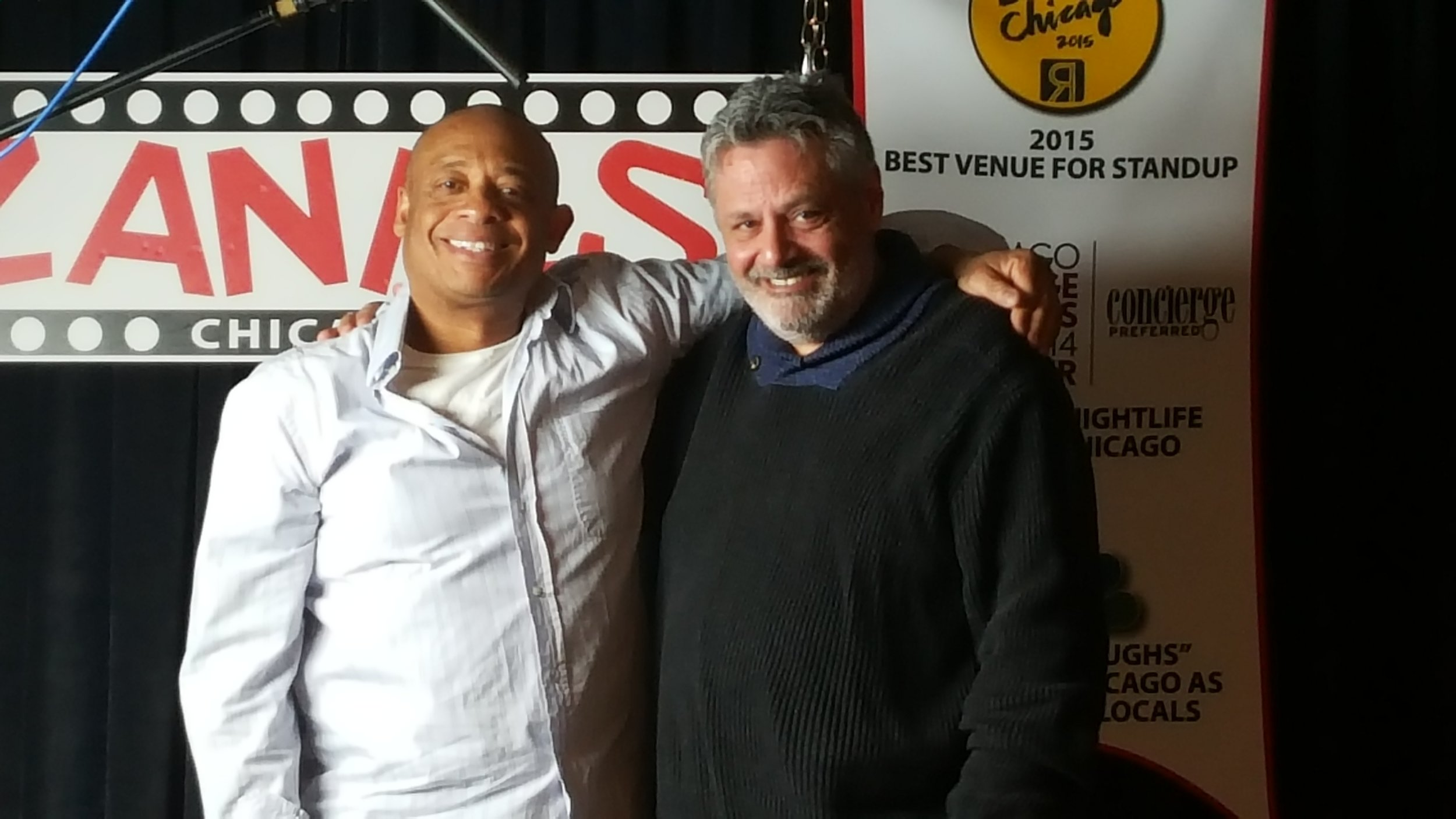 Michael Alexander with Bill Gorgo