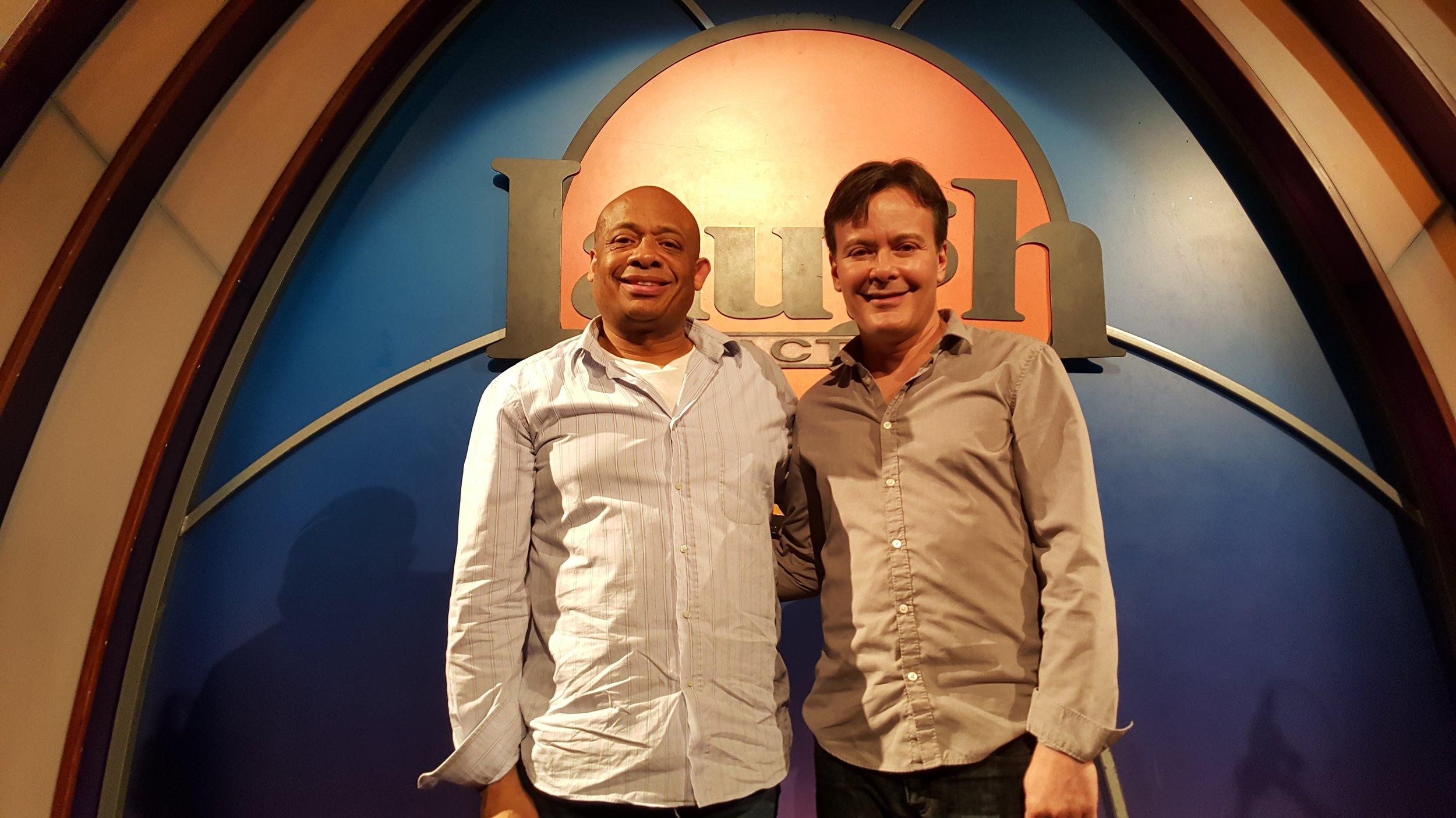 Michael Alexander with Greg Glienna