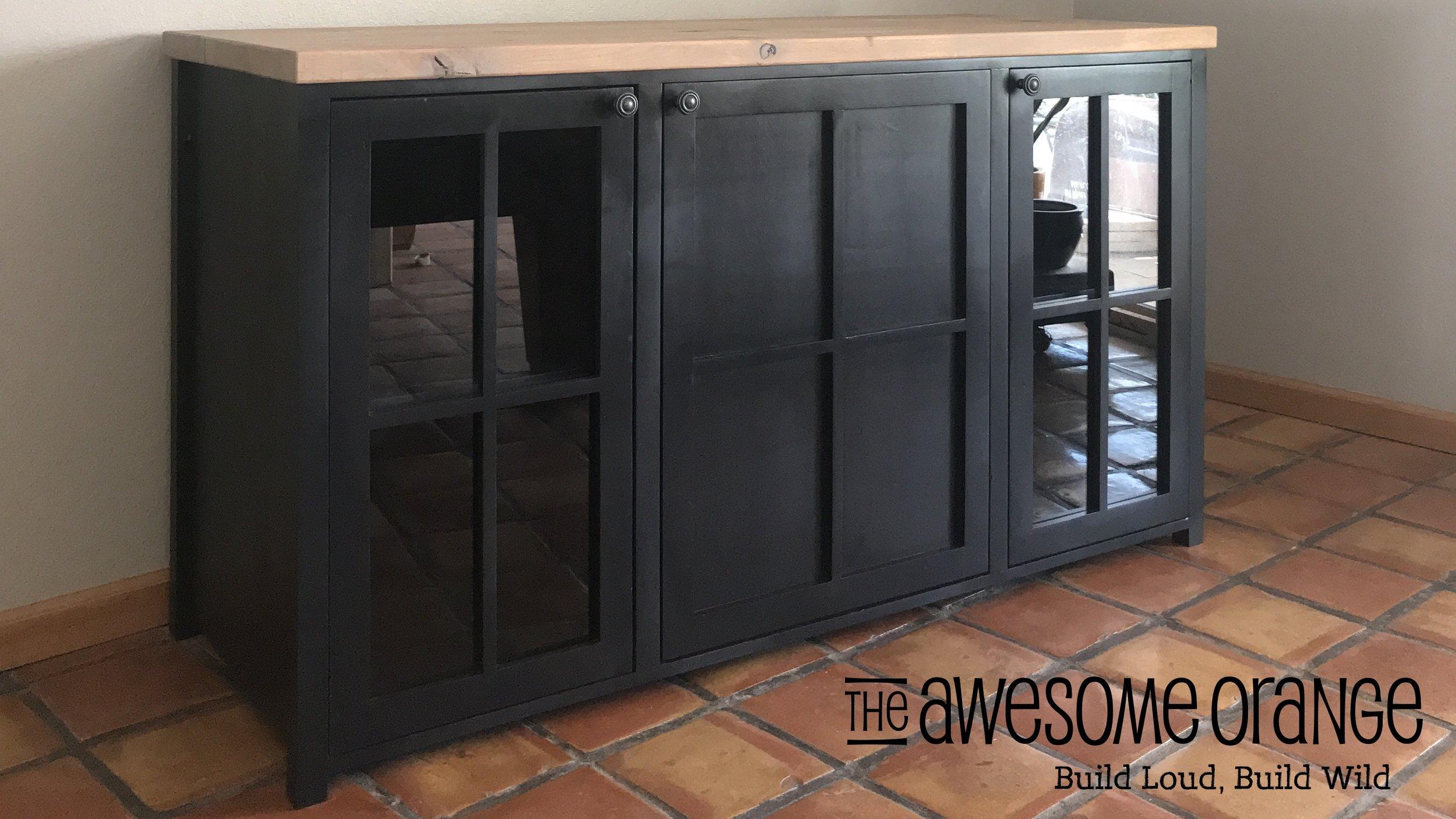 Buffet That Holds A Mini Fridge, Mini Refrigerator Cabinet Ikea