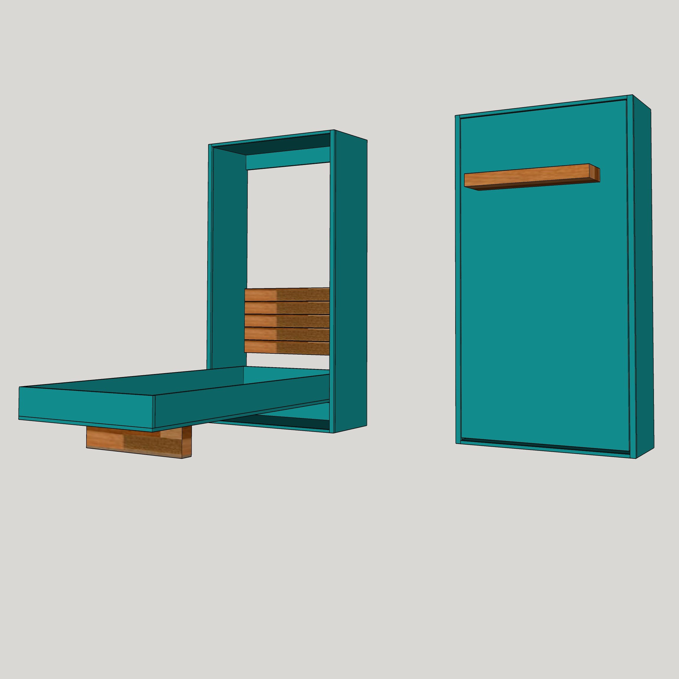 Picture of: Diy Twin Murphy Bed Plans The Awesome Orange