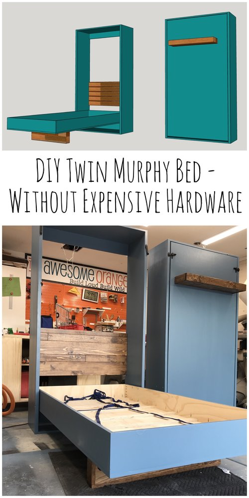 Diy Twin Murphy Beds Without, Queen Size Murphy Bed Plans