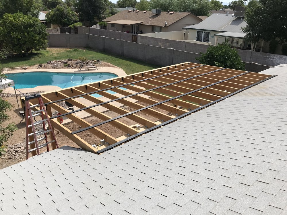 Building A Covered Patio With 30ft, How To Build A Cover Over A Patio