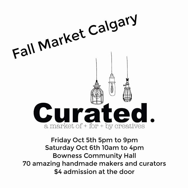 In Two weeks @twopennyjewelry will be at our one and only market this holiday season..... As I'm soon to be a new mom!  With that come visit us Friday and Saturday October 5 & 6th @ the Bowness Community Centre for @bycurated Fall Market~
