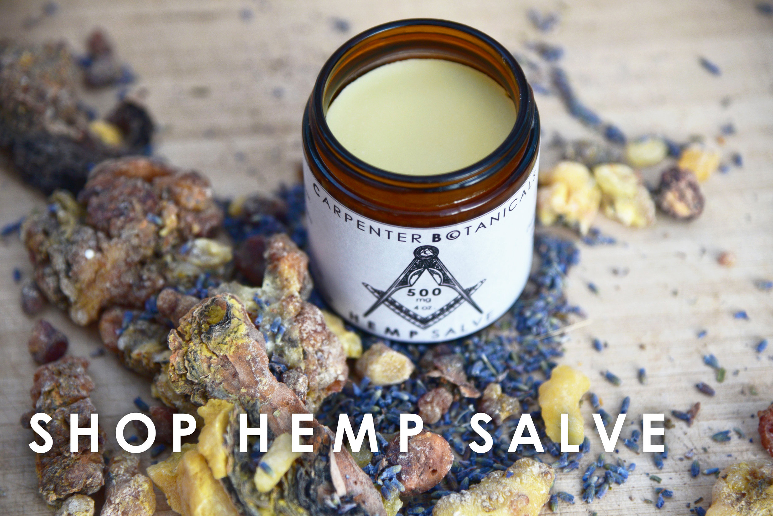 Carpenter Botanicals Hemp Salve