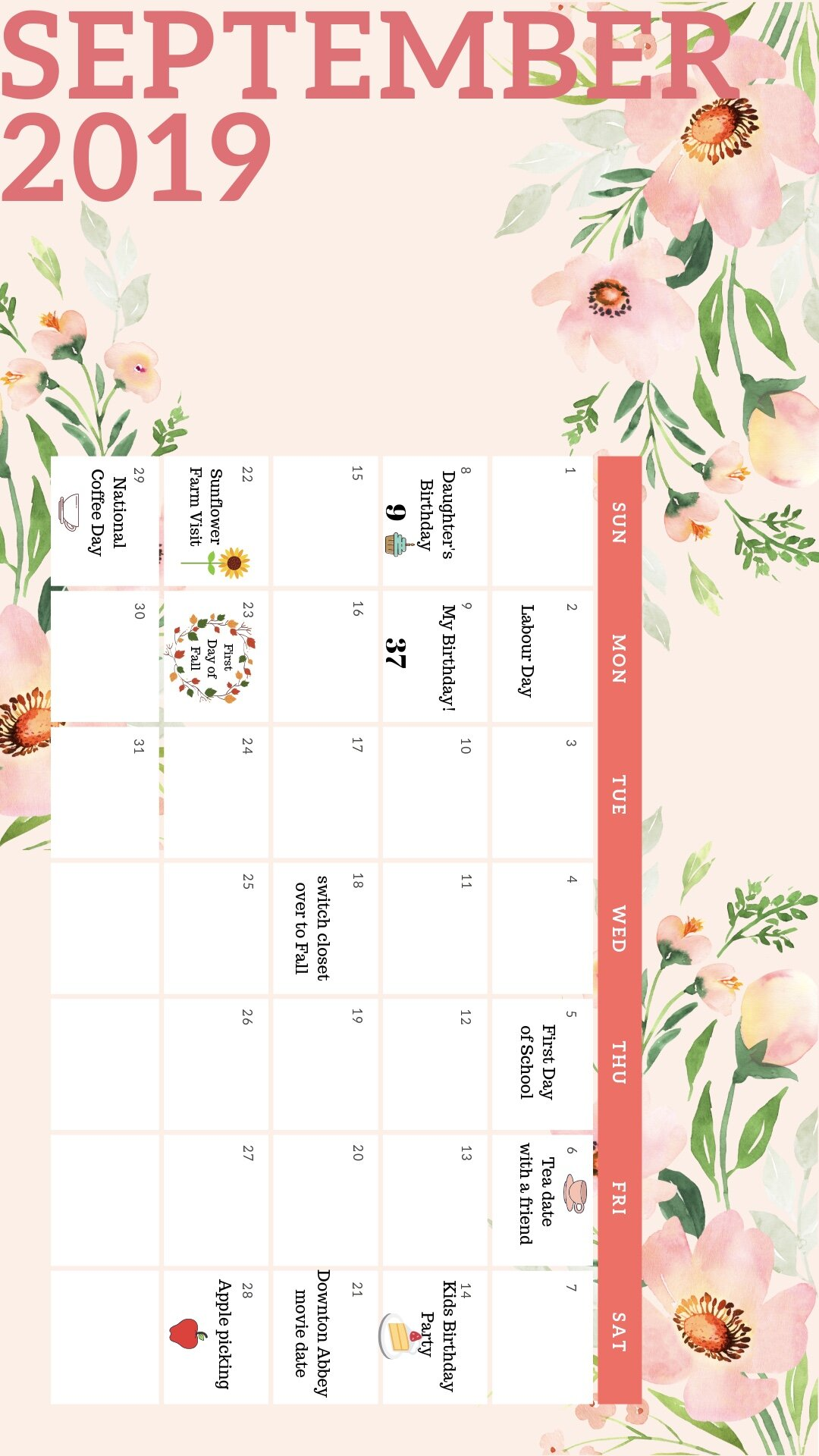 Floral Watercolor Background Collection Calendar-2 2.jpg