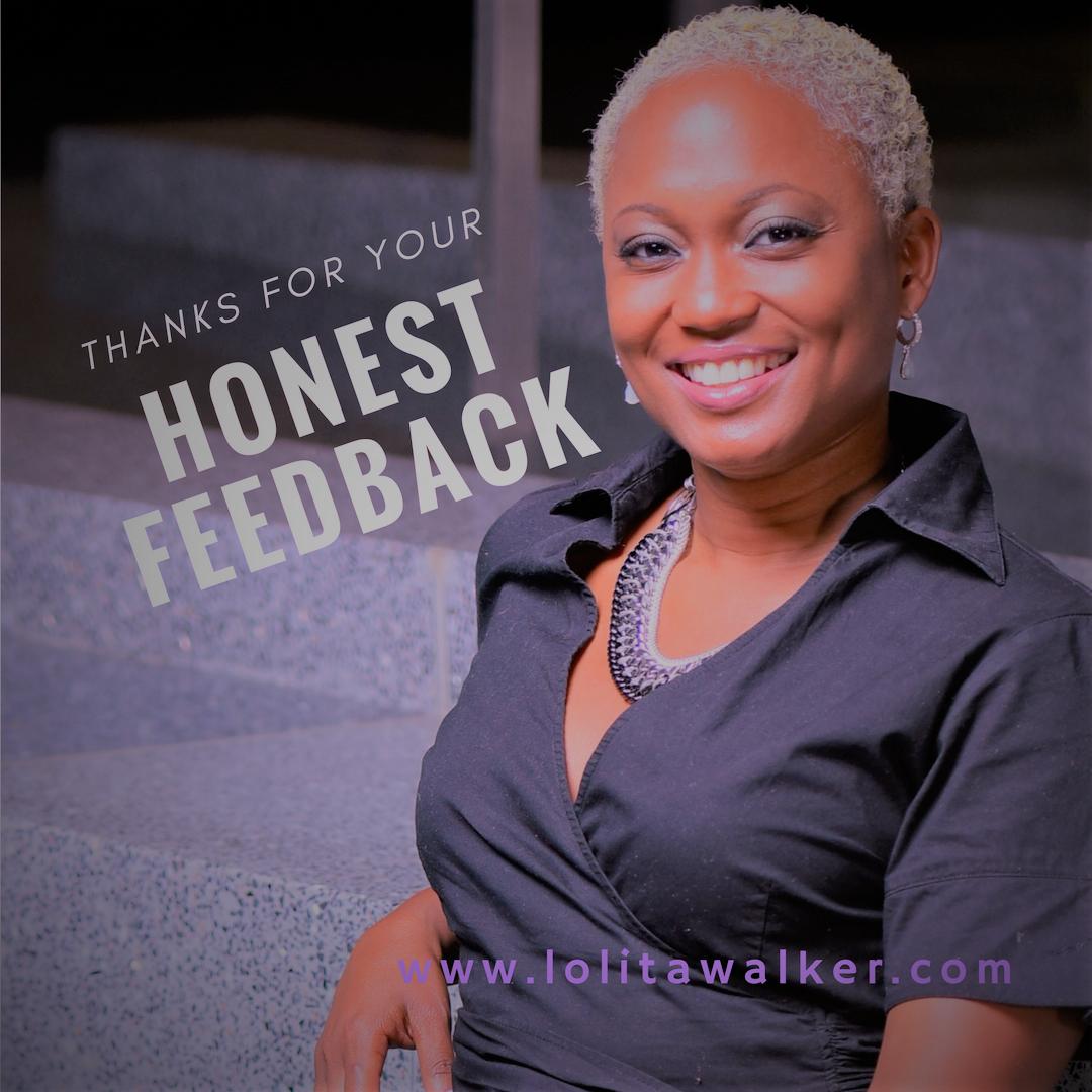 Lolita Walker - Honest Feedback Blog